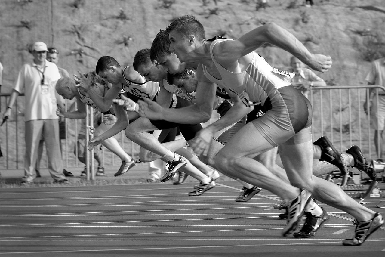 Spot Runs Start La Stadion  - morzaszum / Pixabay